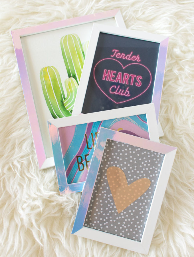 DIY Holographic Photo Frames