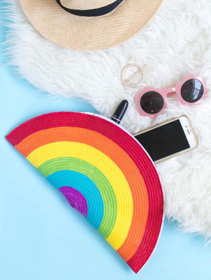 DIY Rainbow Clutch | Club Crafted