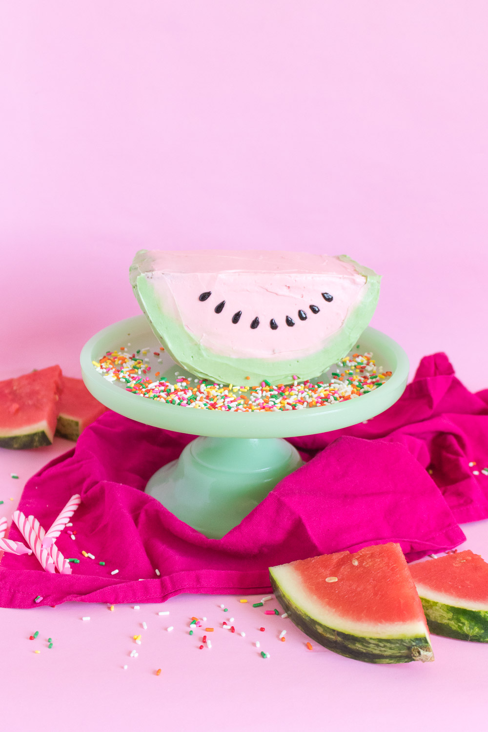 Watermelon Cake | Club Crafted