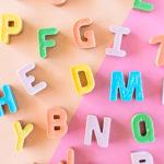 Alphabet Toffee