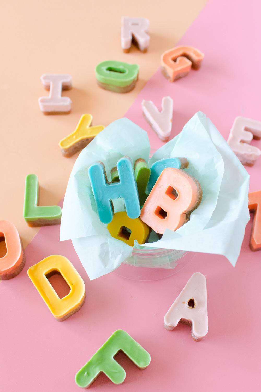 Alphabet Toffee | Club Crafted