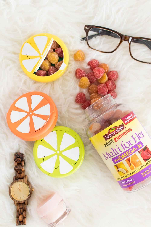 DIY Fruit Slice Vitamin Case | Club Crafted
