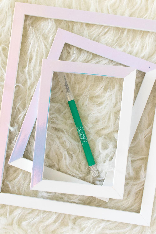 Diy holographic photo frames club crafted diy holographic photo frames club crafted jeuxipadfo Images