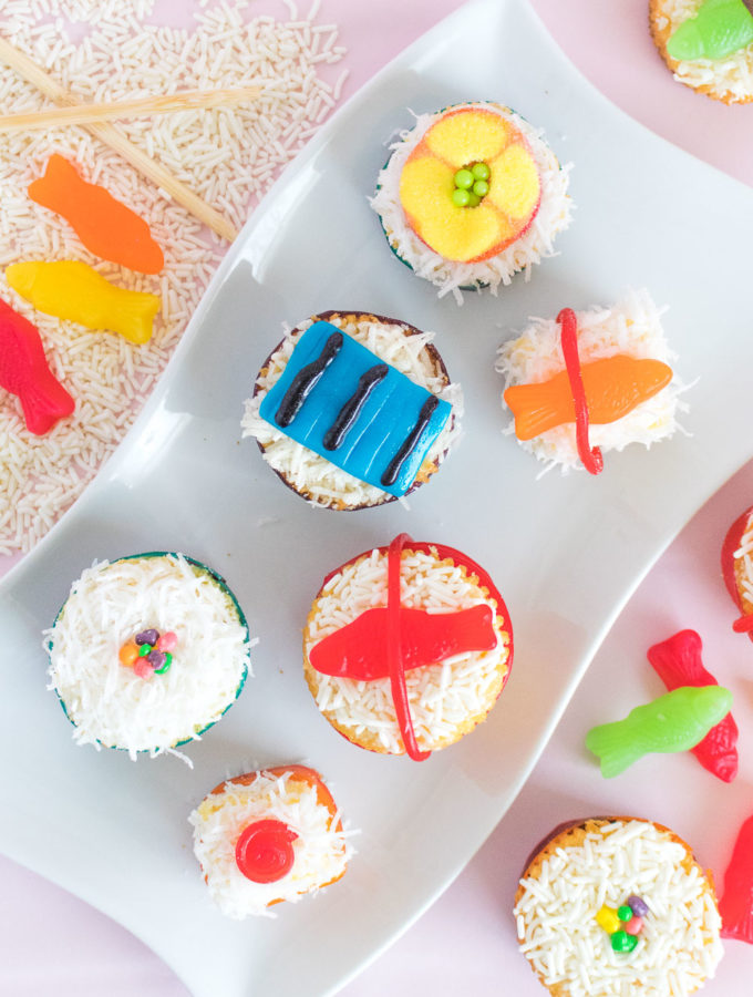 Mini Sushi Cakes | Club Crafted