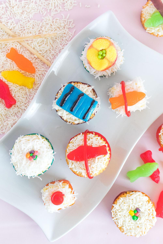 Mini Sushi Cakes   Club Crafted