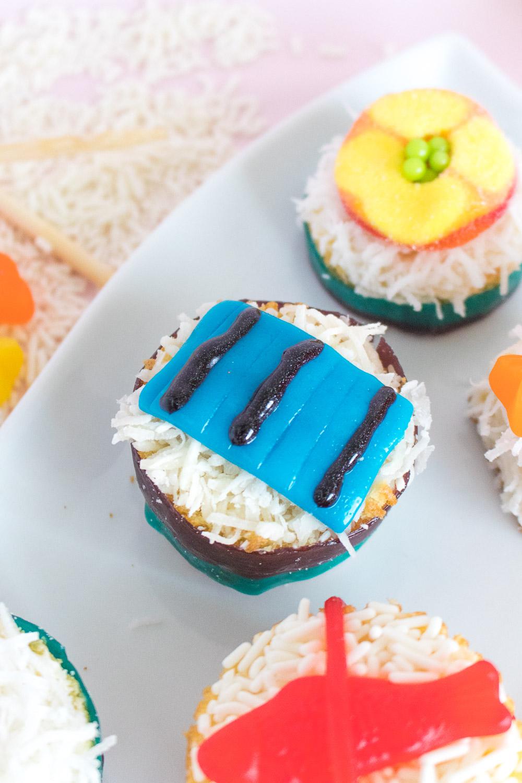 Mini Sushi Cakes | Club Crafted