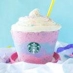 Unicorn Frappuccino Cake