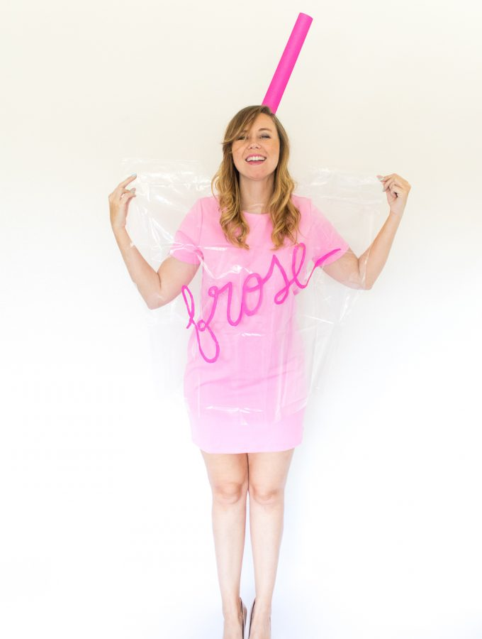 DIY Frosé Costume for Halloween