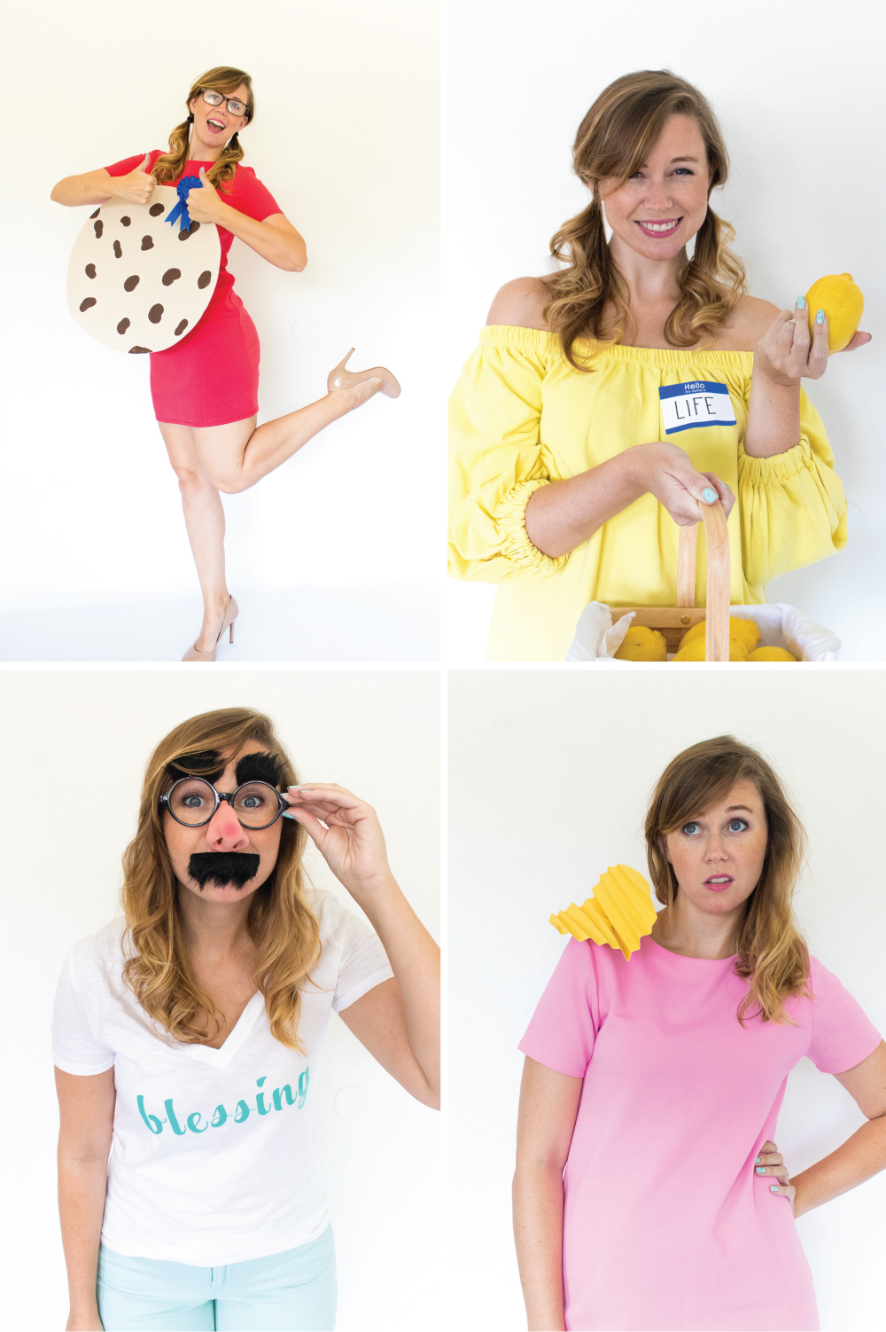 sc 1 st  Club Crafted & 4 Last-Minute Idiom Halloween Costumes | Club Crafted