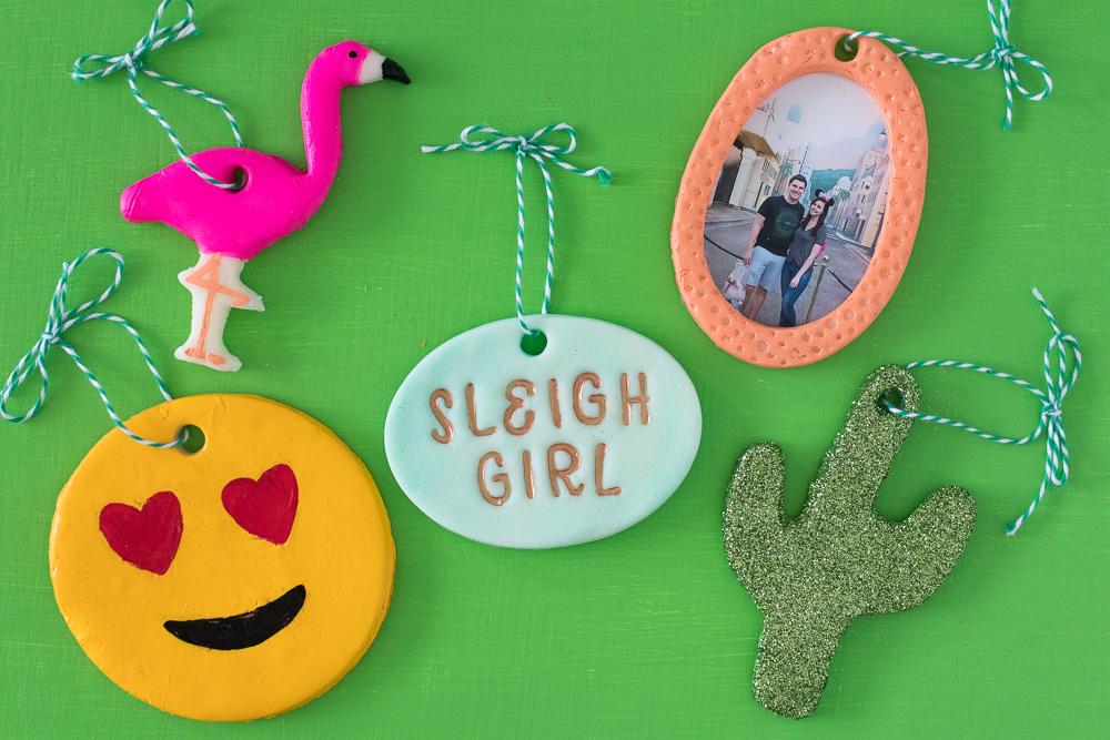 DIY Cornstarch Dough Ornaments: 5 Ways [+ a Video!] | Club Crafted