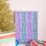 DIY Paper Advent Calendar for Christmas