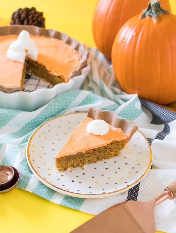 Pumpkin Pie Cake | Club Crafted