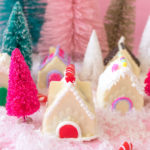 Gingerbread House Cake Bombs