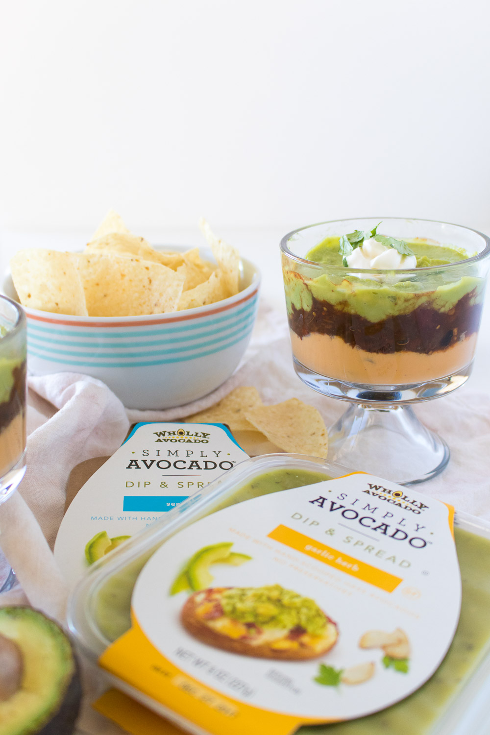 Simple Layered Dip Cups for Holiday Entertaining | Club Crafted