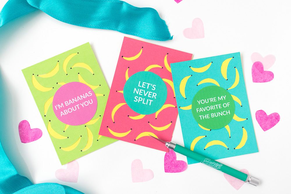 DIY Banana Valentines + a Free Printable! | Club Crafted