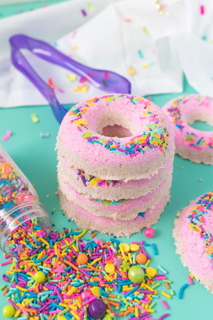 DIY Donut Bath Bombs | Club Crafted