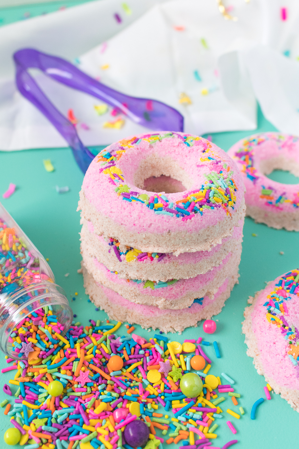 DIY Donut Bath Bombs | Club Crafted