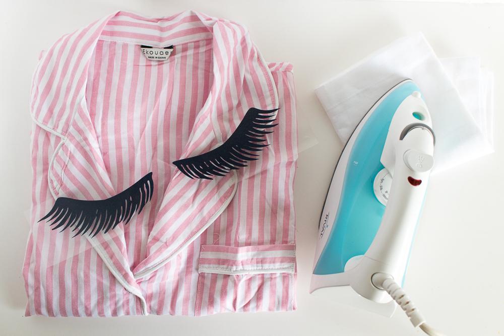 DIY Eyelash Pajamas   Club Crafted