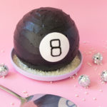 Magic 8 Ball Cake