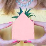 DIY Mini House Planters