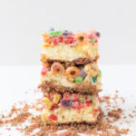 Fruit Loops Cheesecake Bars
