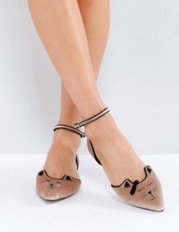 Cat Pointed Ballet Flats