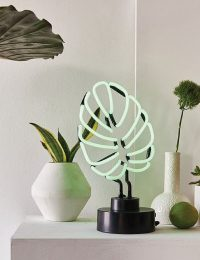 Monstera Leaf Neon Lamp