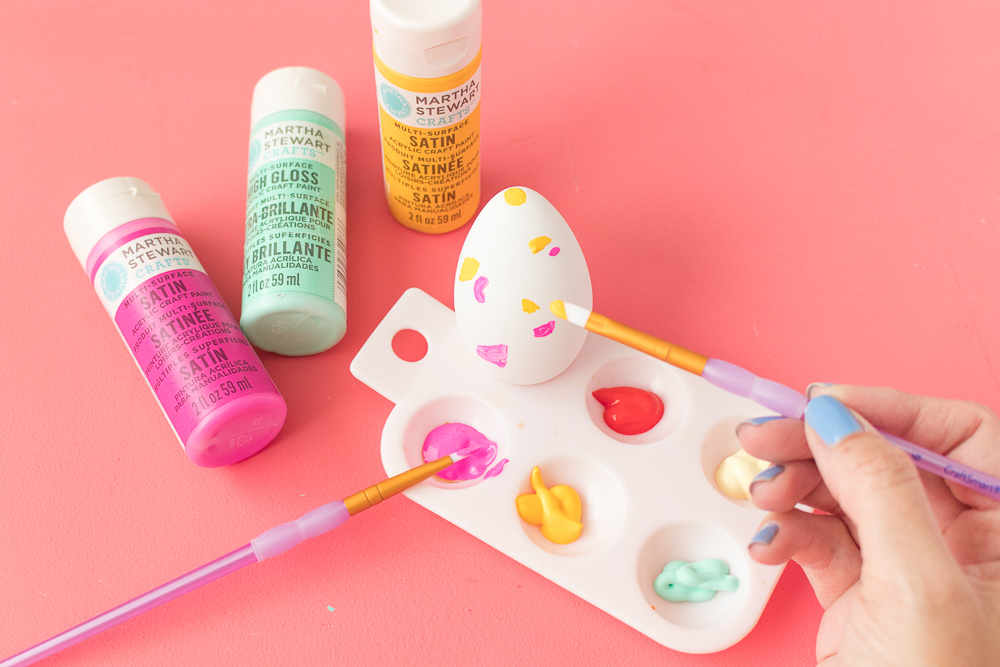 DIY Terrazzo Easter Eggs | Club Crafted