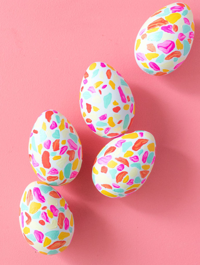 DIY Terrazzo Easter Eggs