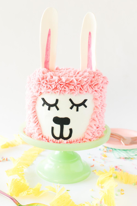 Pink Llama Cake | Club Crafted
