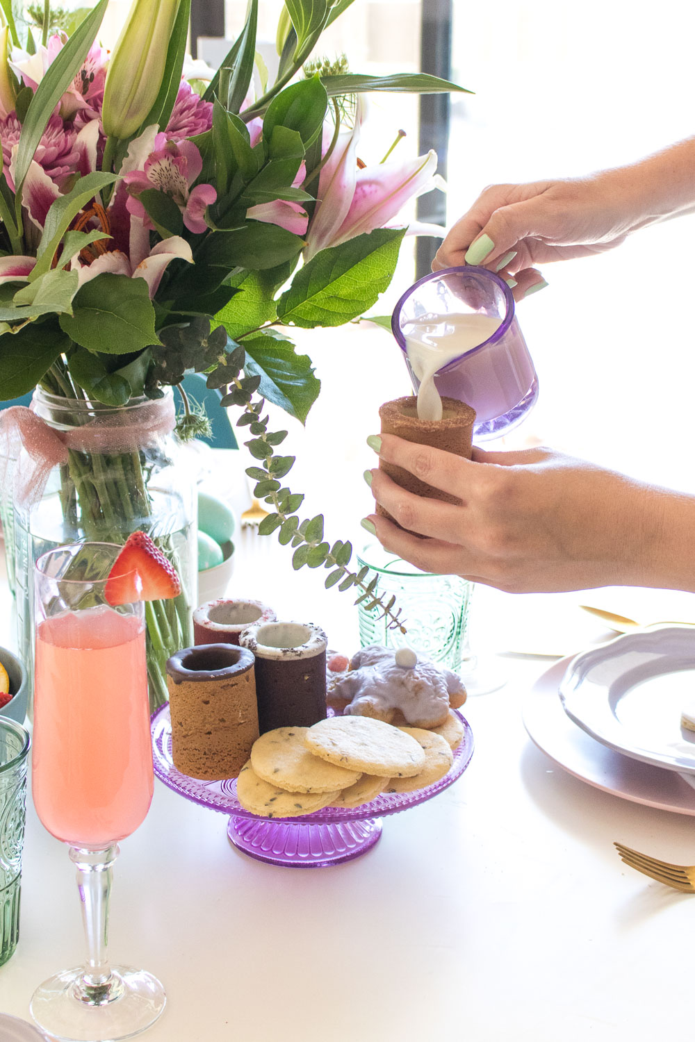 How to Plan a Pretty Pastel Easter Brunch | Club Crafted