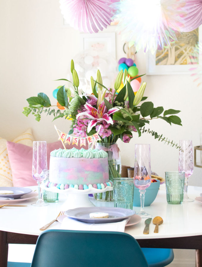 Pretty Pastel Easter Brunch
