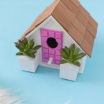 #ThatPinkDoor DIY Palm Springs Birdhouse