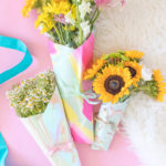 Bouquets for Days: How to Wrap a Bouquet of Flowers with Wrapping Paper
