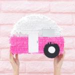 DIY Retro Camper Piñata