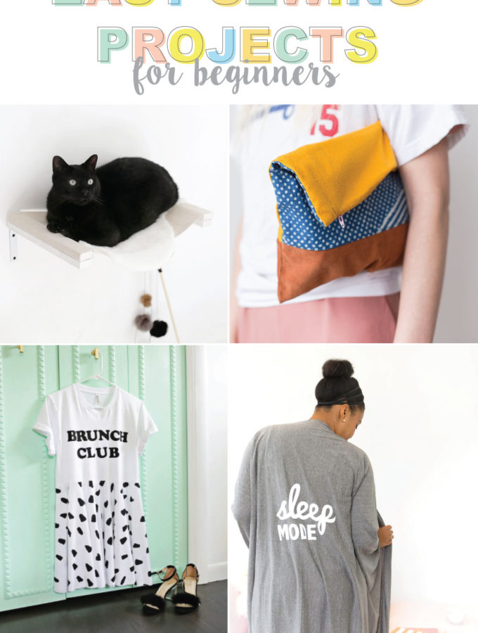 The Best Easy Sewing Projects for Beginners | Club Crafted