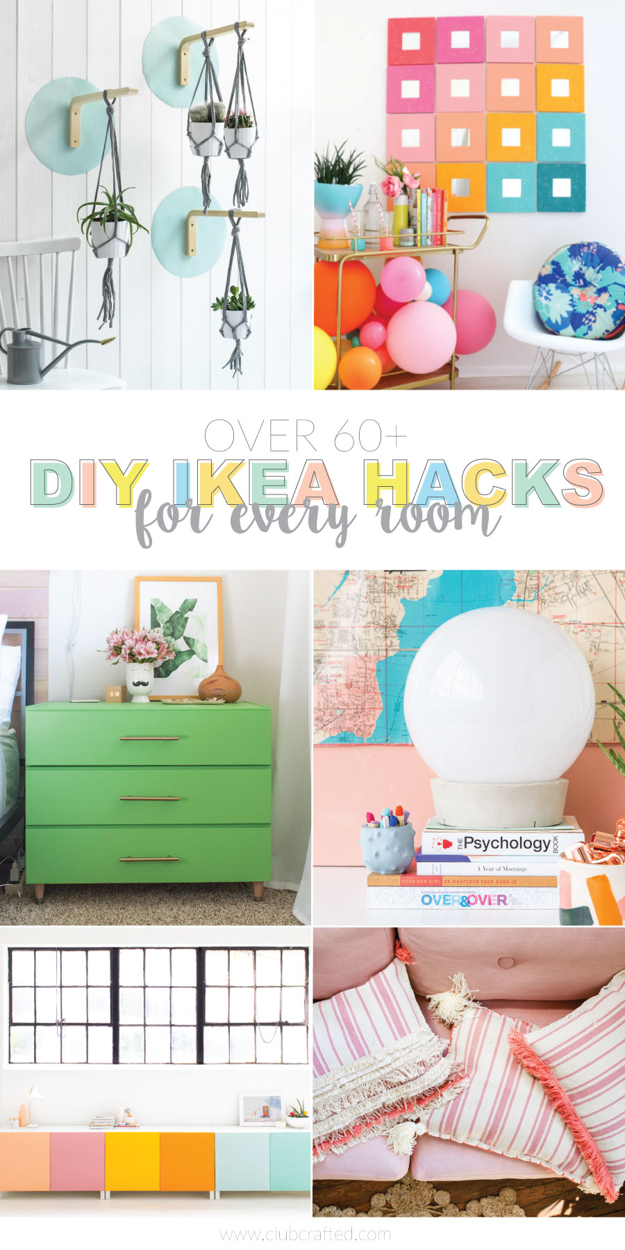 DIY IKEA Hacks for Every Room in your House | Club Crafted