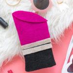 DIY Lipstick Sunglasses Case with Felt