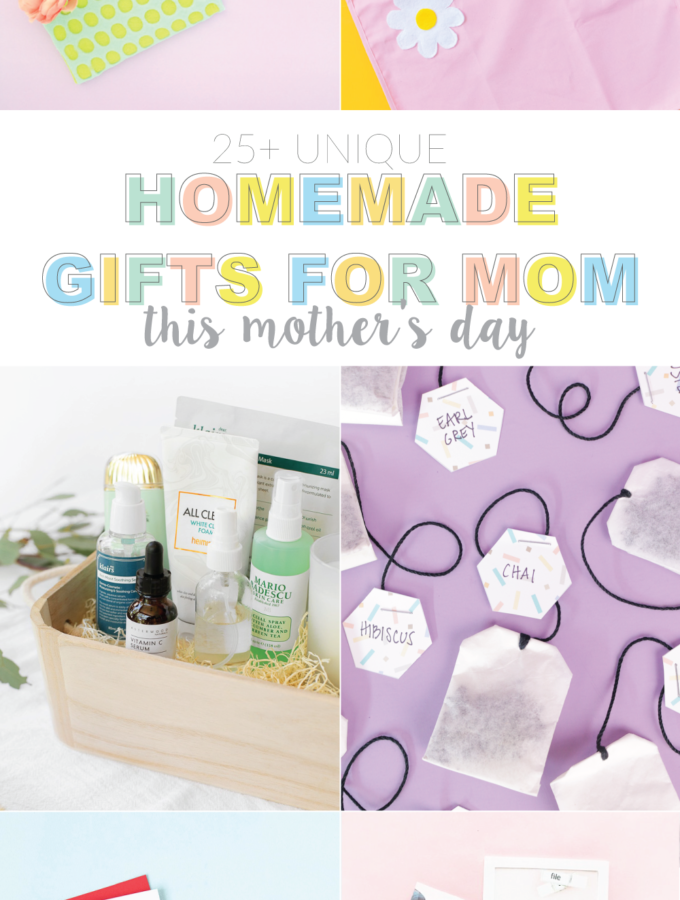 Unique Homemade Gifts for Mom this Mother's Day | Club Crafted