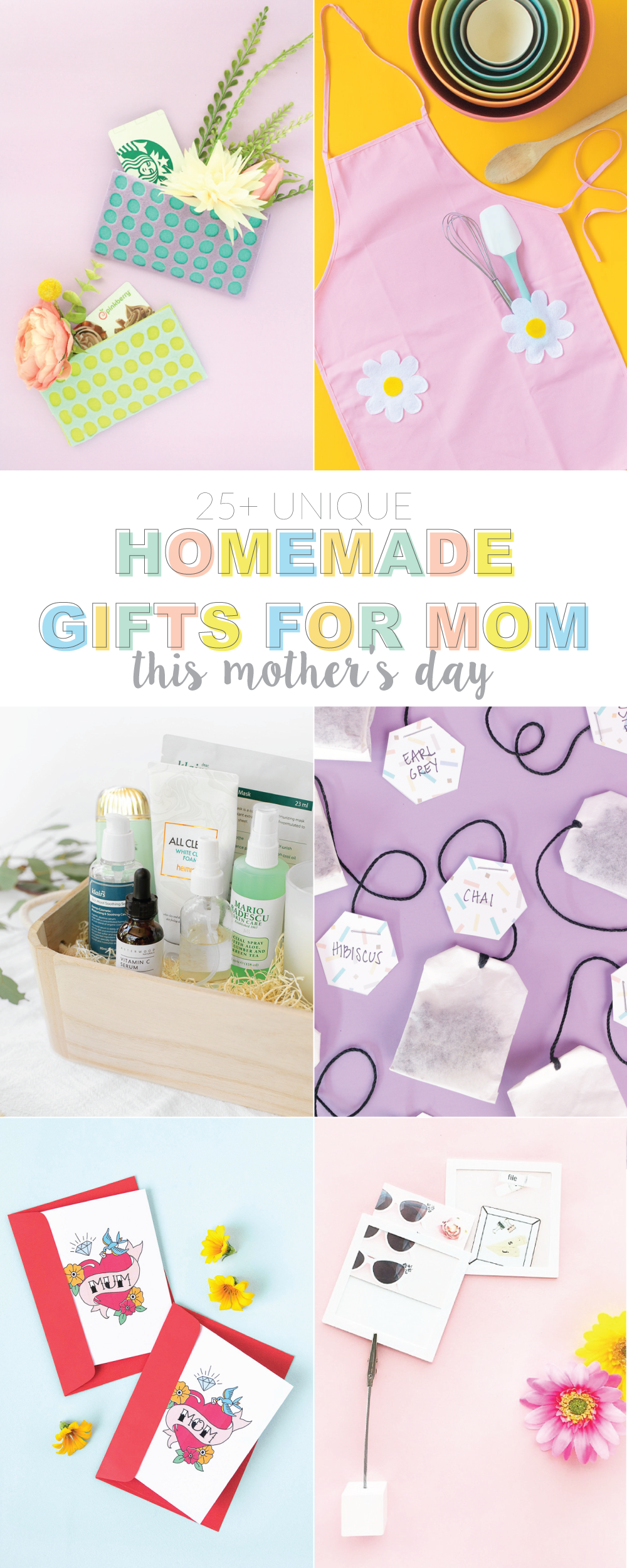 Homemade Gifts For Mom This Mother 39 S Day Club Crafted