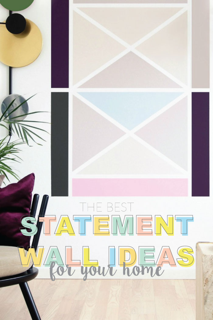 Statement Wall Ideas That Add A Pop Of Color To Your Home