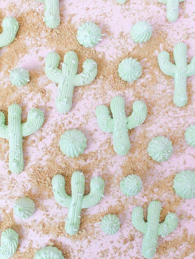 Cactus Meringues