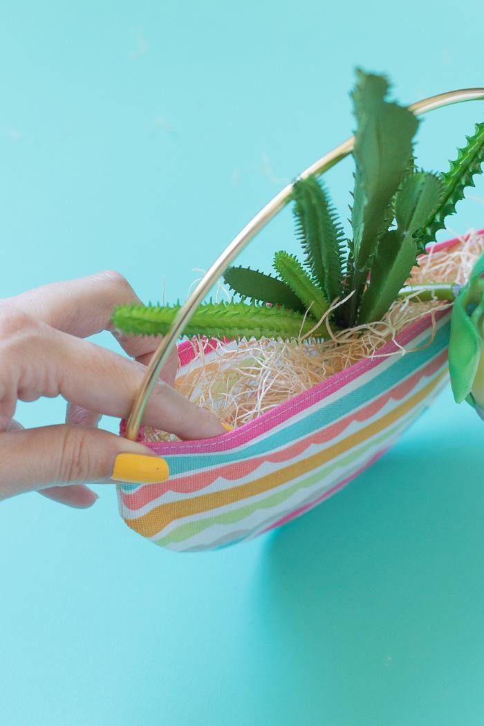 DIY Fabric Pocket Planter   Club Crafted