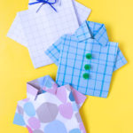 DIY Origami Shirt Card for Father's Day