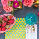 DIY Woven Paper Placemats for Summer