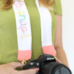 How to Sew a Hand Embroidered Camera Strap