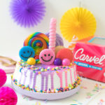 Rainbow Freak Cake Ice Cream Cake Hack