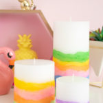 DIY Sand Art Candles