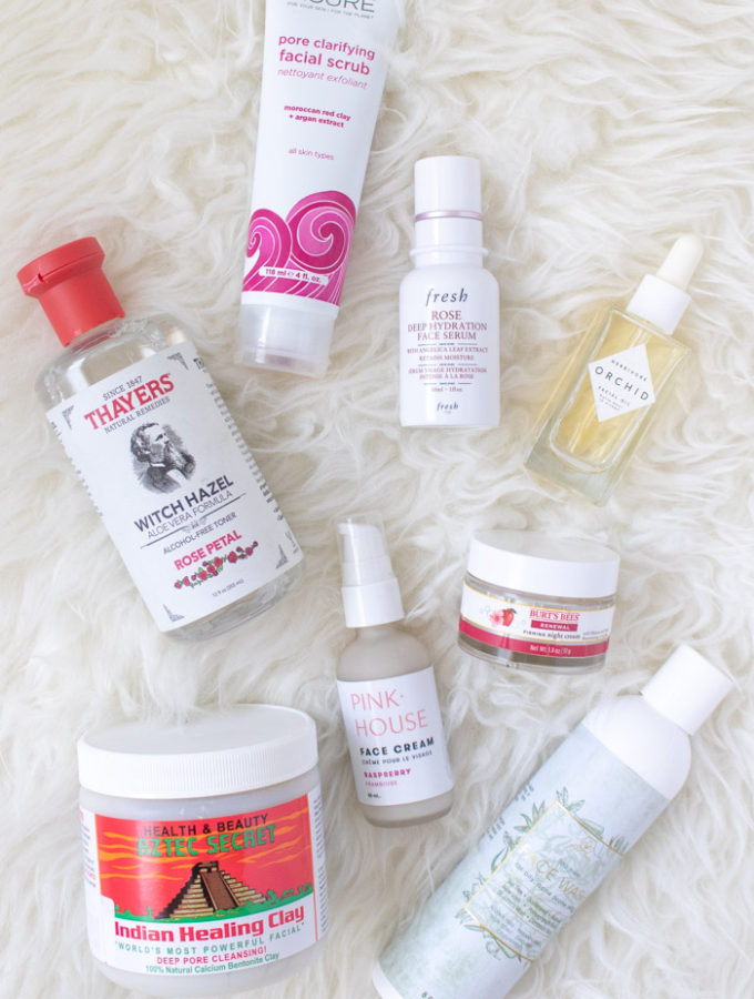 "My Favorite ""Natural"" Skincare Products 
