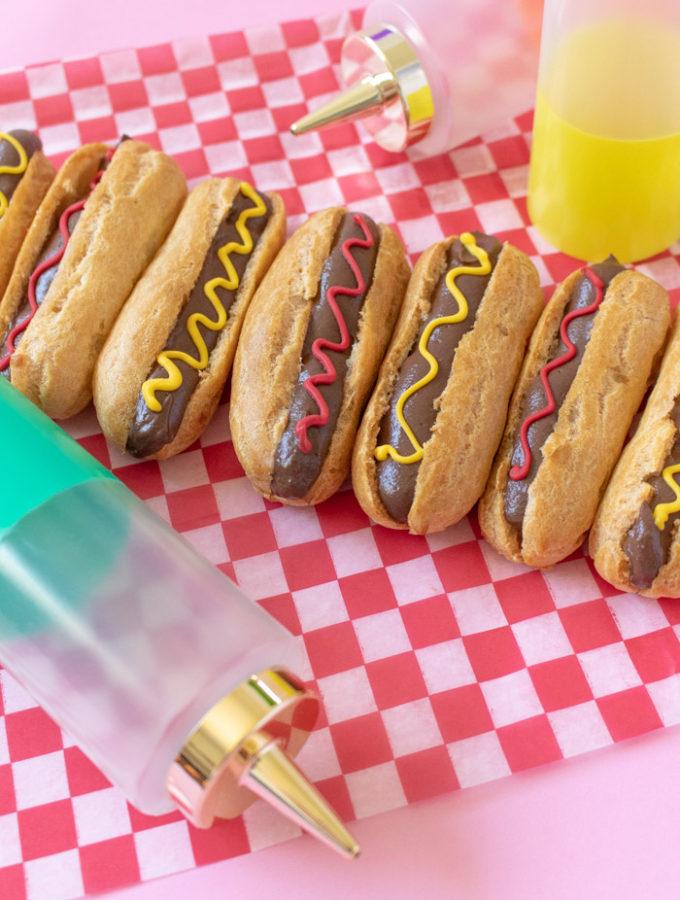 Hot Dog Eclairs